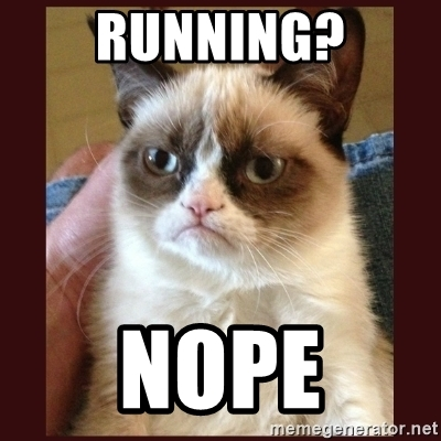 running-nope